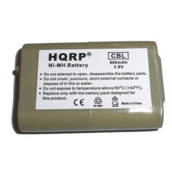 HQRP Cordless Phone Battery for AT & T / Lucent model 102, part number 89-1324-00-00 / 8913240000 Replacement plus Coaster