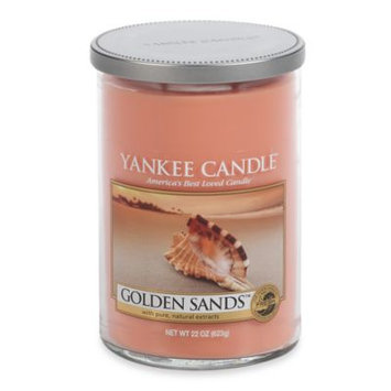 Yankee Candle Golden Sands Large 2-Wick Lidded Candle Tumbler