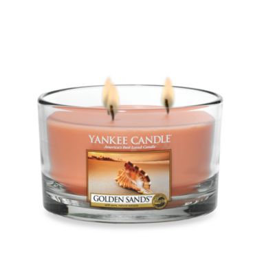 Yankee Candle Golden Sands 3-Wick Candle