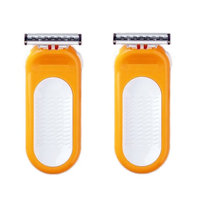 Compatible Razor fits with Sensor Excel for Women Refill Blade Cartridges (2 Pack) + FREE Assorted Purse Kit/Cosmetic Bag Bonus Gift