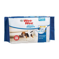 Four Paws Wee Wee Disposable Diapers, Medium 12ct