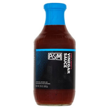 Summer Garden Food Pork And Mindys, Sauce BBQ Vinegar, 20 Oz (Pack Of 6)