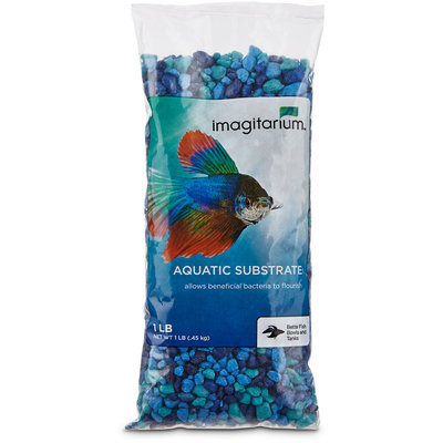 Petco Blue Jean Aquarium Gravel, 1 lb.