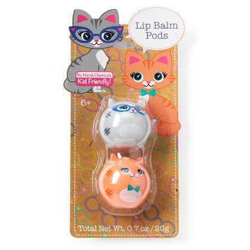 Simple Pleasures 2-pk. Hipster Kitty Lip Balm Critter Pods, Ovrfl Oth