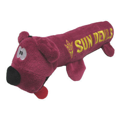 Arizona State University Sun Devils Ncaa Tube Dog Toy, Pets First