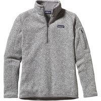 Patagonia Better Sweater 1/4-Zip Fleece Jacket - Women's Birch White, S