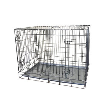 KennelMaster 24 in. x 17 in. x 19 in. Small Wire Dog Crate