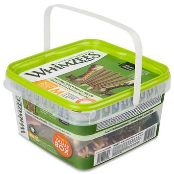 Whimzees Medium Variety Dog Chews Container