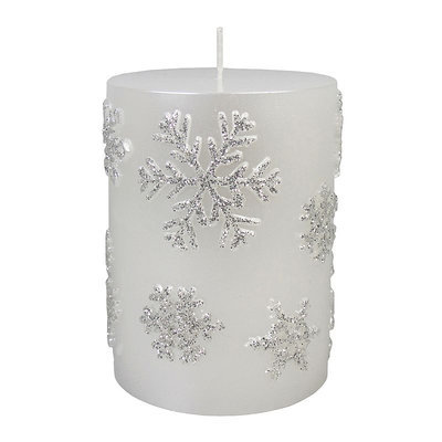 St. Nicholas Square® Frosted Snowflake 4