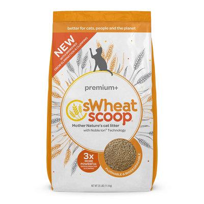 sWheat Scoop Premium+ All-Natural Cat Litter, 25 lbs.
