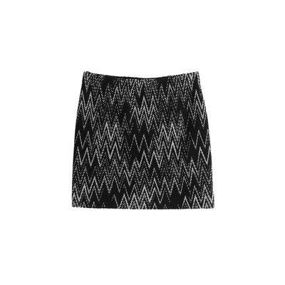 Missoni Wool Mini Skirt - multicolor