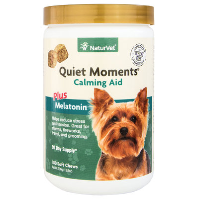 Quiet Moments Calming Aid Dog Soft Chews, 180 count