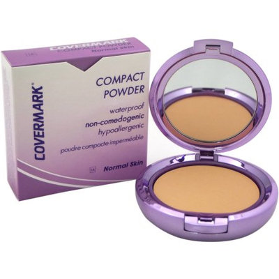 Compact Powder Waterproof - # 1A - Normal Skin by Covermark for Women - 0.35 oz Powder