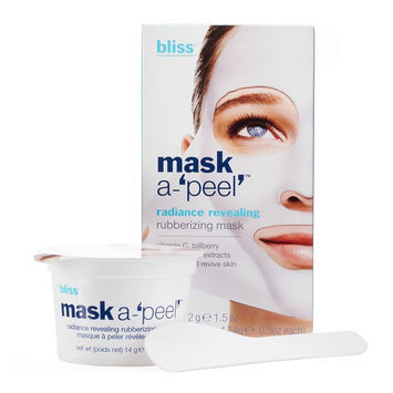 bliss mask a-'peel' radiance revealing rubberizing mask (3 pack)