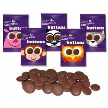 Cadbury Milk Chocolate Buttons (Pack of 48)