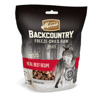 Merrick Backcountry Freeze Dried Raw Beef Dog Treats, 3.25 OZ