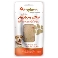Applaws Whole Chicken Fillet with Goji Berry Dog Treat, 1.05 oz