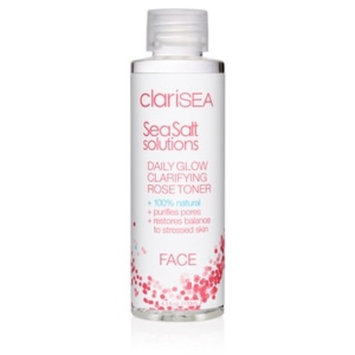 clariSEA Sea Salt Solutions, Daily Glow Clarifying Rose Toner, 4.5 OZ