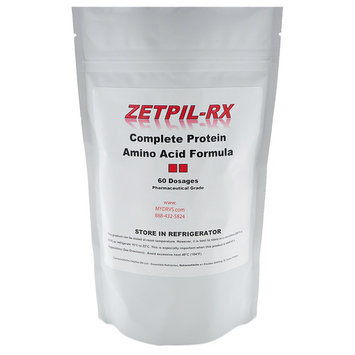 Zetpil Complete Protein Amino Acid Formula Suppositories, 60 Count