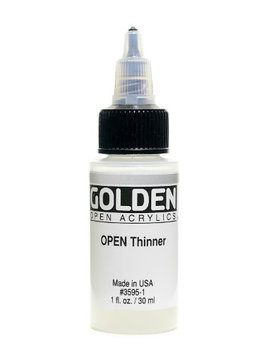 Golden OPEN Acrylic Mediums thinner, , 1 oz. [pack of 3]
