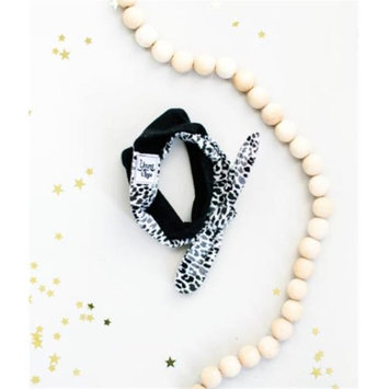 Young And Free Apparel Black & White Cheetah Head Wrap