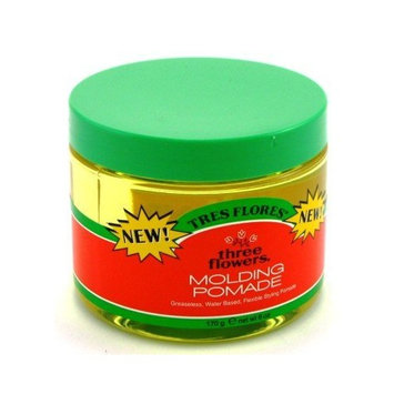 Three Flowers Molding Pomade 6 oz (Pack of 6)