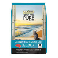 CANIDAE Grain Free PURE Ocean Indoor Cat Formula Made With Fresh Tuna, 5 lbs.