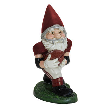 Exhart Football Gnome Outdoor Decor, Multi/None