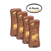 PACK OF 4 - Hawaiian Tropic Sheer Touch Lotion Sunscreen Broad Spectrum, SPF 8, 8 fl oz