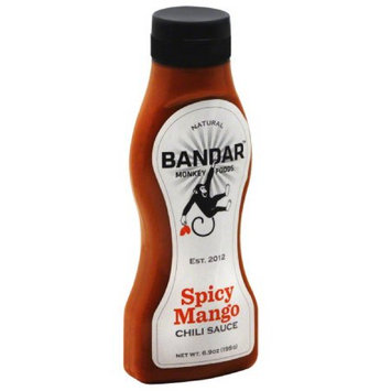 Bandar Monkey Foods Spicy Mango Chili Sauce, 6.9 oz, (Pack of 6)