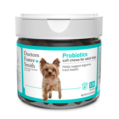 Drs. Foster and Smith Probiotic Soft Chews, 120 count