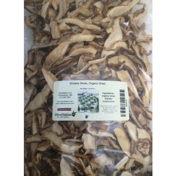 Shiitake Slices, Organic Dried 16 oz by OliveNation