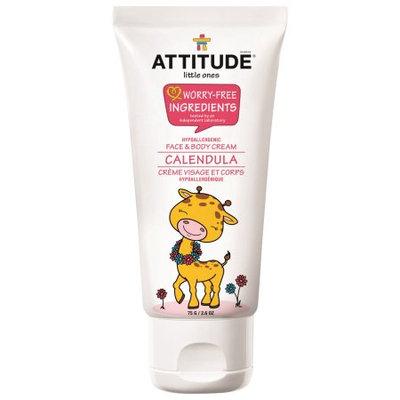 ATTITUDE Little Ones Face & Body Cream, Calendula Night, 2.6 Oz
