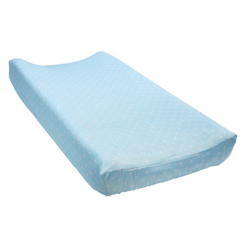 Baby Carter's Print Changing Pad Cover, Turquoise/Blue (Turq/Aqua)