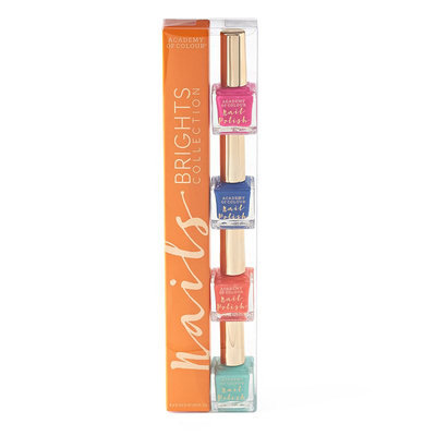 Madame Milly Academy of Colour Brights Collection 4-pk. Nail Polish Set, Multicolor