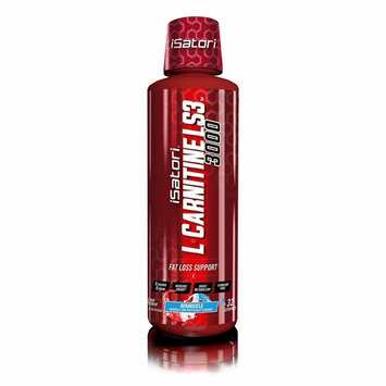 iSatori L-Carnitine LS3 Concentrated Liquid Fat Burner and Metabolism Activator - Fat Burner for Health and Fitness - Stimulant Free - Bombsicle 3000mg - 32 Servings