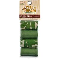 So Phresh Pets on Safari Green Print Pick Up Bags, 120 count