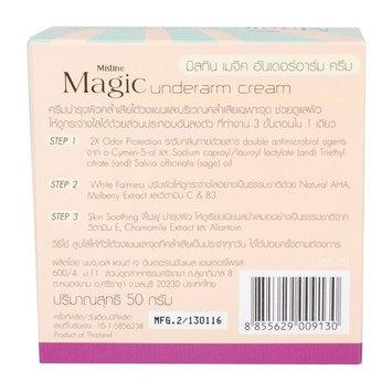 Mistine Magic Underarm Cream Armpit Wash and Brightening Discoloration 50g x 1 Pcs.