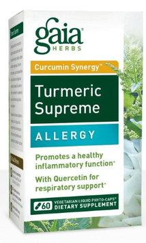 Gaia Herbs Curcumin Synergy Turmeric Supreme, Allergy, Capsules, 60 ea