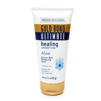 Gold Bond Healing With Aloe Gold Bond Healing Fresh Scent Moisturizer with Aloe Cream, 5.5 oz. Tube