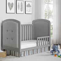 Dorel Living Baby Relax Senna Toddler Guard Rail, Gray