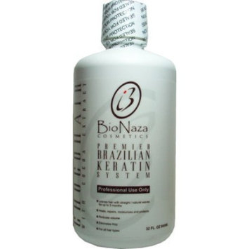 BioNaza ChocoHair Brazilian Keratin Treatment 32 oz (No Wait Time)