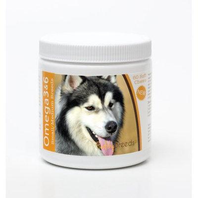 Healthy Breeds 840235142904 Siberian Husky Omega 3 & 6 Soft Chews - 60 count