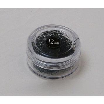 Eyelash Extension Glossy B Curl 12 Mm Long, 0.15mm Thick
