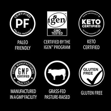 Premium Collagen Peptides Powder | Grass-Fed, Certified Paleo Friendly, Non-GMO and Gluten Free - Unflavored and Easy to Mix