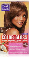 Dark and Lovely Color-Gloss Ultra Radiant Color Creme, Medium Brown 1.0 ea(pack of 6)