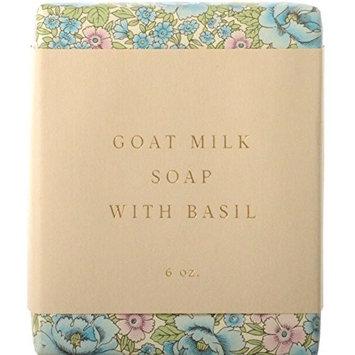 SAIPUA SOAPS Goat Milk Soap with Basil 6 oz