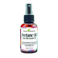 Tunisian Amber | Fragrance / Perfume Oil | 2oz Made with Organic Oils - Spray on Perfume Oil - Alcohol & Preservative Free