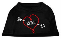 Ahi XOXO Screen Print Shirt Black Sm (10)
