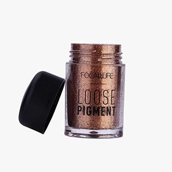 2Pcs Fashionable Glitter Ingredients Beauty Loose Eyeshadow Pigments Lips Loose Mineral Eye Shadow